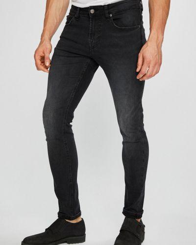 Джинсы-скинни на пуговицах эластичные Guess Jeans
