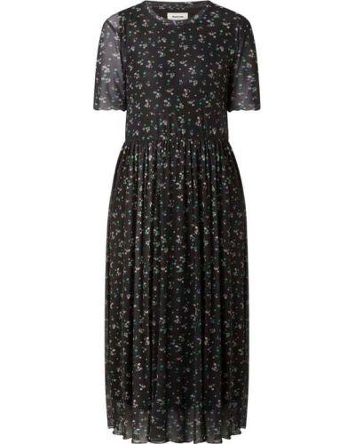 Sukienka midi - czarna Modström