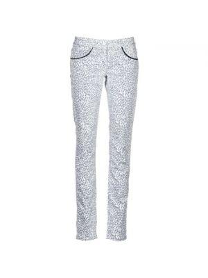 Beżowe spodnie Kookai