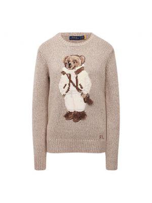 Трикотажный свитер - бежевый Polo Ralph Lauren