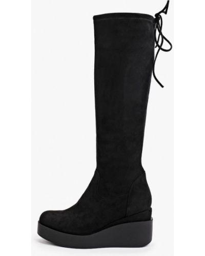 Черные сапоги осенние Diora.rim