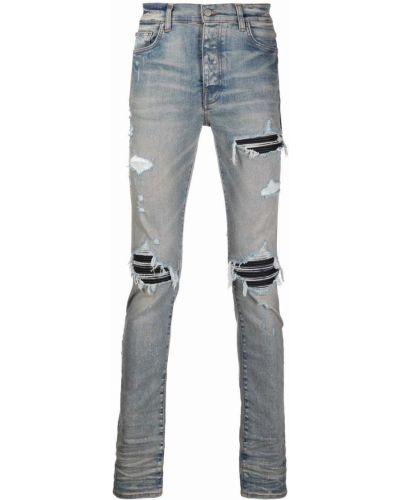 Синие облегающие джинсы Amiri