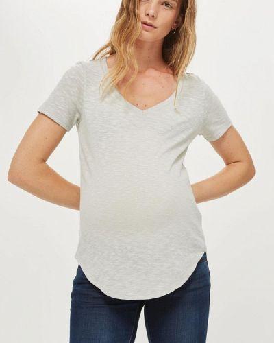 Серое поло Topshop Maternity