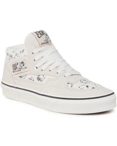 Beżowy sneakersy Vans