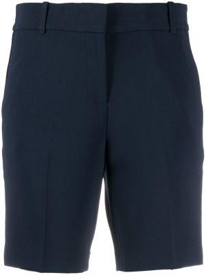 Синие с завышенной талией шорты-чиносы с карманами Michael Michael Kors
