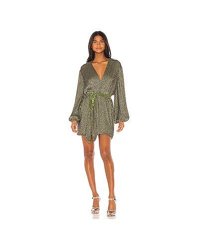 Платье с запахом винтажная Retrofete