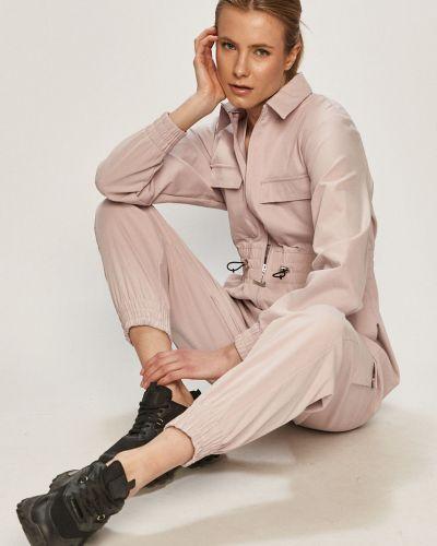 Różowy kombinezon z długimi rękawami na co dzień Nike Sportswear