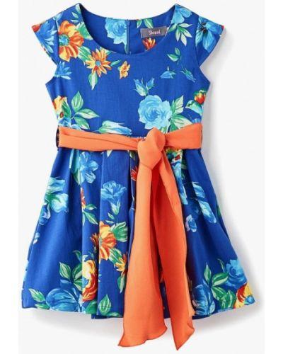 Синее платье на торжество Shened
