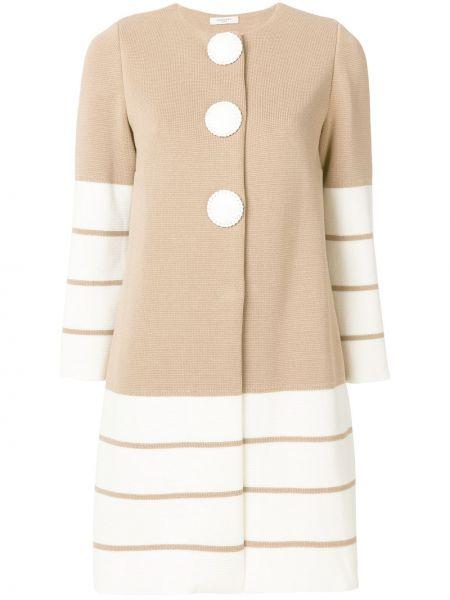 Коралловое пальто с капюшоном Charlott