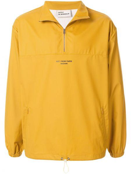 Żółta kurtka z długimi rękawami Drole De Monsieur
