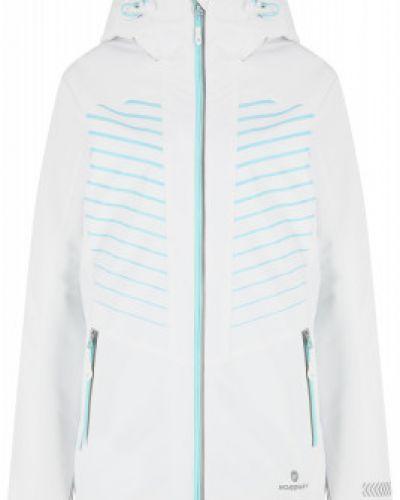 Белая утепленная куртка для бега Nordway