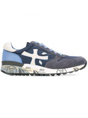 Нейлоновые синие кроссовки Premiata