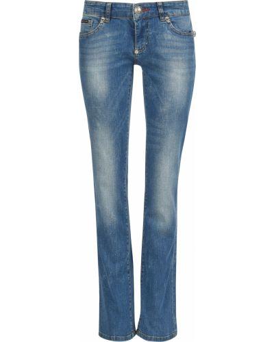 Хлопковые джинсы - голубые Philipp Plein