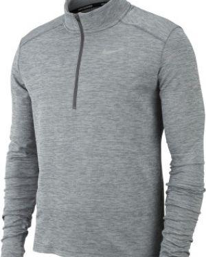 Серый спортивный джемпер на молнии на молнии Nike