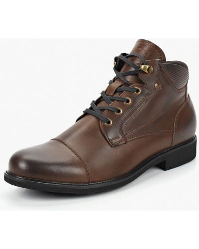 Ботинки осенние кожаные демисезонный Hcs