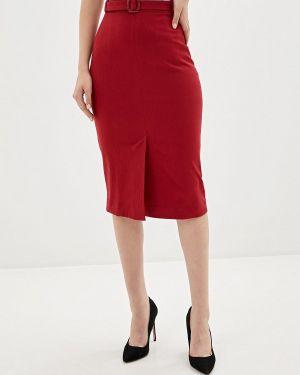 Платье прямое красный Krismarin