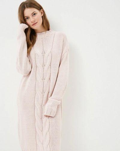 Платье розовое вязаное Fimfi