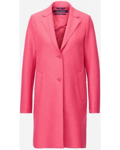 Классическое шерстяное прямое розовое пальто классическое Marc O' Polo