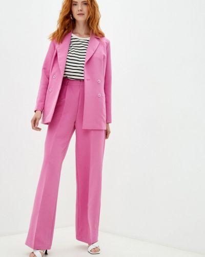 Розовый костюм летний Irma Dressy