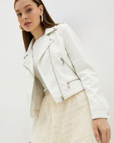 Кожаная куртка - бежевая Softy
