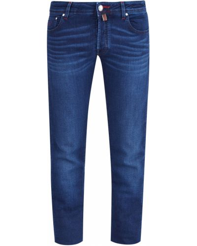 Прямые джинсы с нашивками с карманами Jacob Cohen