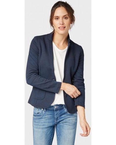 Синий пиджак весенний Tom Tailor