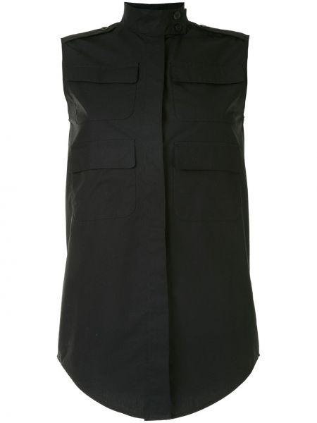 Рубашка без рукавов - черная Vera Wang