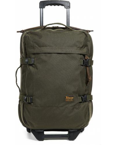 Bawełna zielony nylon walizka prążkowany Filson