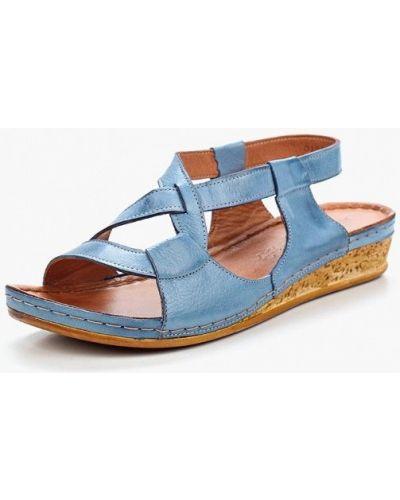 Голубые сандалии турецкие Alessio Nesca