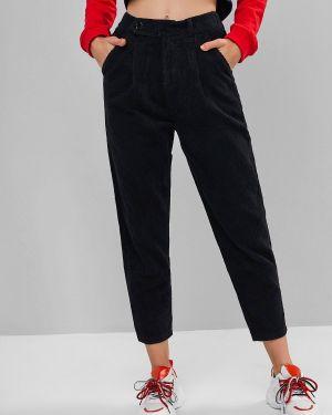 Брюки вельветовые брюки-карандаш Zaful