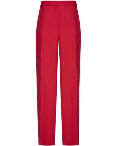 Спортивные брюки с лампасами красный Hakaan