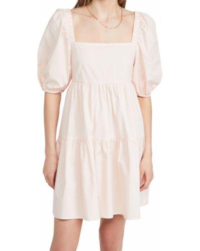 Открытое розовое платье с открытой спиной Minkpink