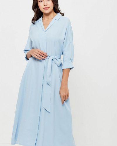 Голубое платье весеннее Parole By Victoria Andreyanova