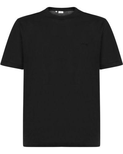 Czarna t-shirt Brioni