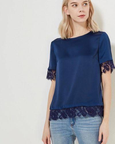 Синяя блузка Zarina