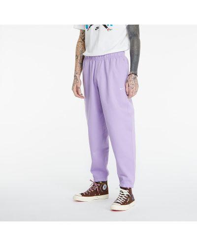 Флисовые городские белые брюки Nike