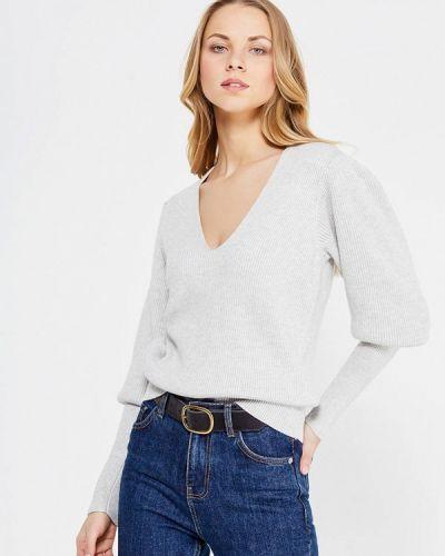 Серый пуловер Free People