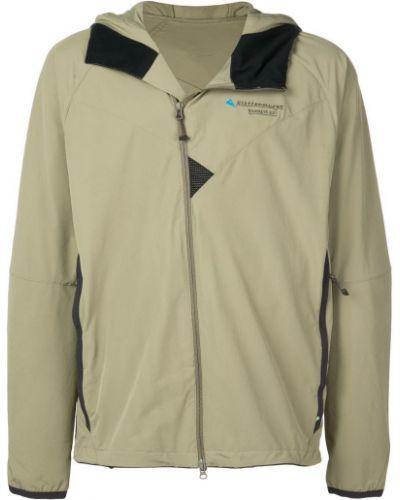 Куртка с капюшоном с логотипом на молнии Klättermusen