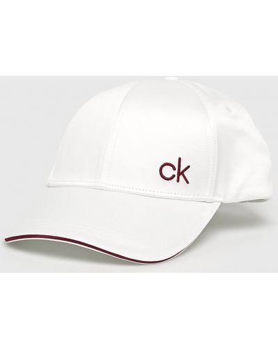 Кепка из полиэстера - белая Calvin Klein
