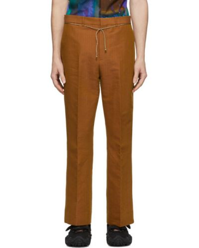 Spodnie z kieszeniami z fałdami Acne Studios