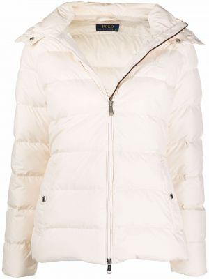 Пуховая куртка - белая Polo Ralph Lauren
