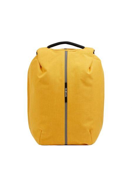 Żółty plecak Samsonite