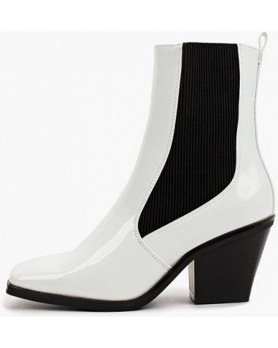 Белые демисезонные ботинки La Bottine Souriante