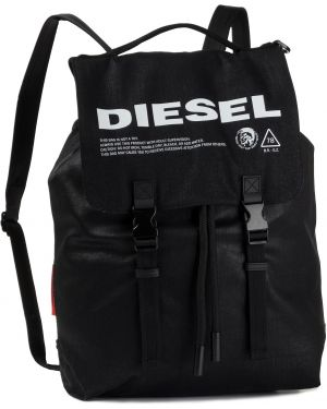 Torba plecak na torbę czarna Diesel