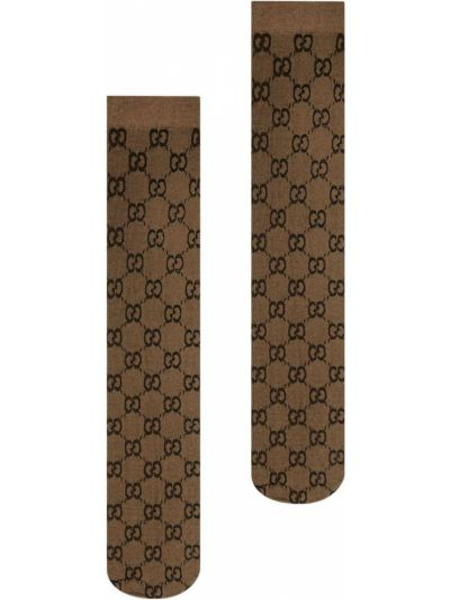 Skarpety - brązowe Gucci