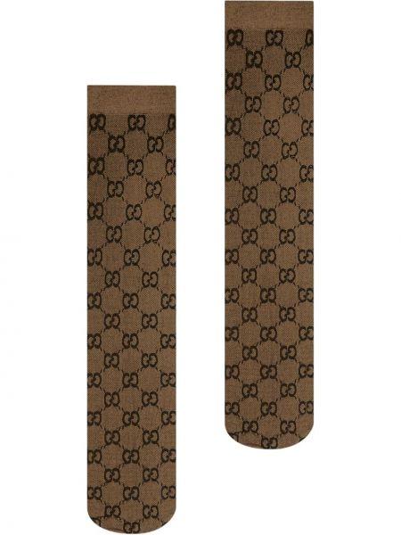 Wysoki skarpety z wzorem chudy Gucci