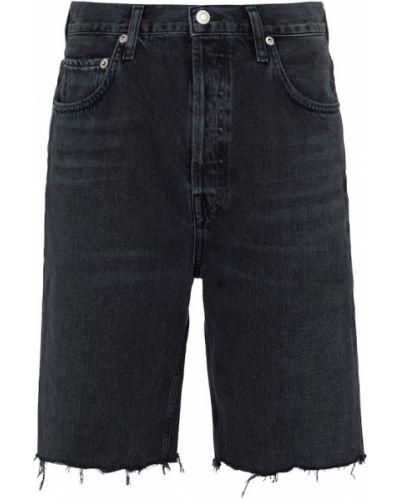 Czarne jeansy bawełniane Agolde
