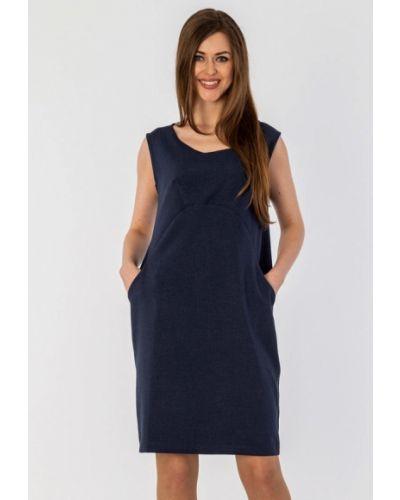 Платье миди - синее S&a Style