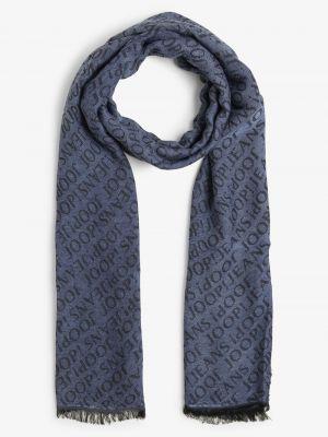 Niebieski szalik elegancki Joop!