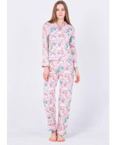 Розовая пижама Nostalgy